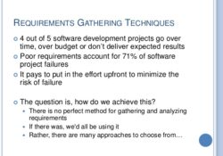 The Basics of Requirements Gathering in Software Engineering