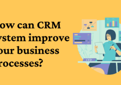 How can CRM system improve your business processes ecle